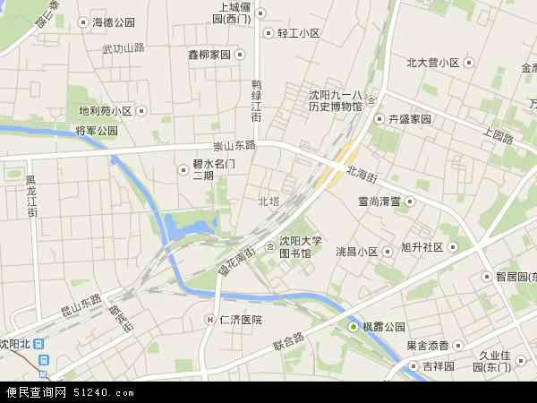 皇姑区地图 沈阳市皇姑区站街女 中国地图高清卫星地图