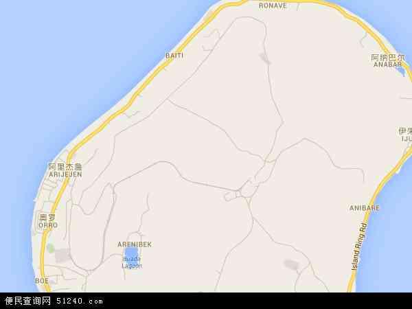 瑙鲁地图 - 瑙鲁电子地图 - 瑙鲁高清地图 - 2016年瑙鲁地图