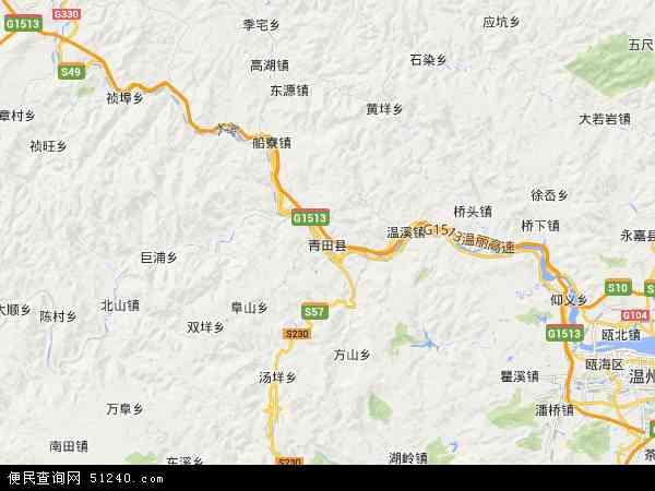 瓯南地图 - 瓯南电子地图