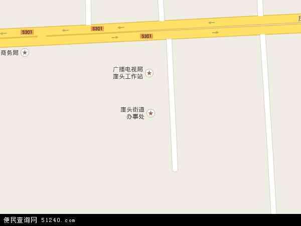中国山东省威海市荣成市崖头地图(卫星地图)
