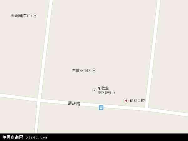 中国辽宁省锦州市古塔区敬业地图(卫星地图)