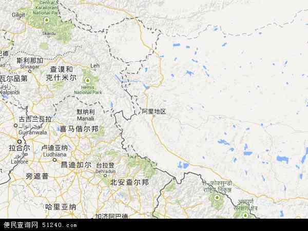 南阿里地图 - 南阿里电子地图