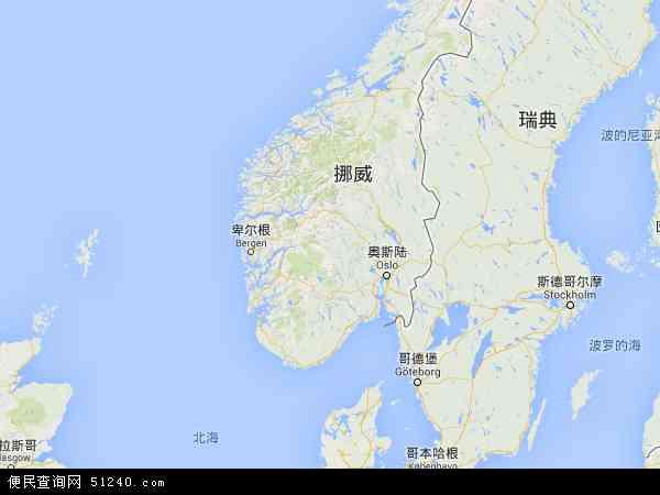 挪威地图 - 挪威电子地图 - 挪威高清地图 - 2016年挪威地图