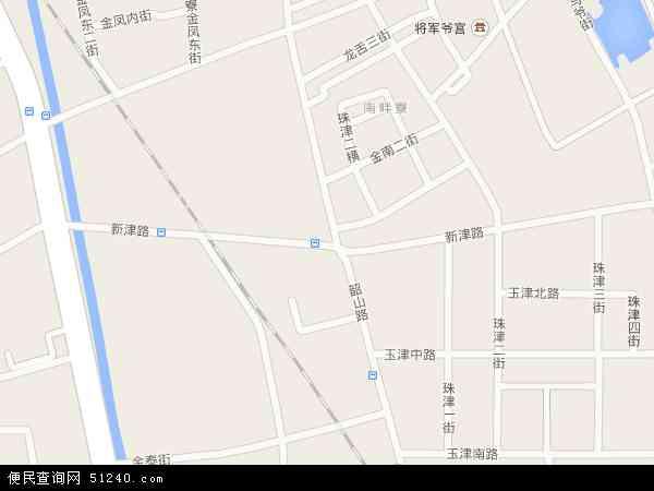 中国广东省汕头市龙湖区新津地图(卫星地图)