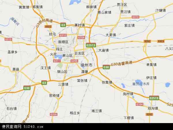 中国 江苏省 徐州市  本站收录有:2018徐州市卫星地图高清版,徐州市
