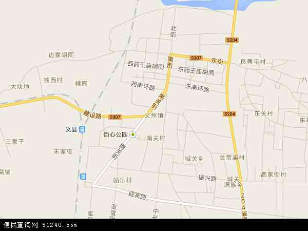 中国辽宁省锦州市义县义州地图(卫星地图)