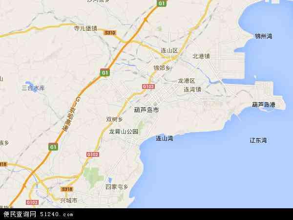 葫芦岛动车网上订票_中国辽宁省葫芦岛市地图(卫星地图)