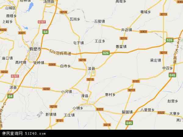 浚县地图 - 浚县卫星地图 - 浚县高清航拍地图 -