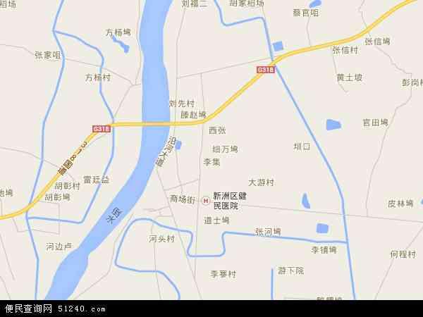 李集地图 - 李集电子地图 - 李集高清地图 - 2018年李集地图图片
