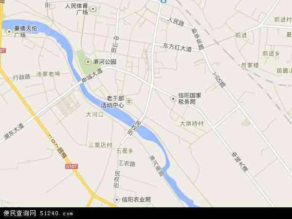 民权地图 - 民权卫星地图