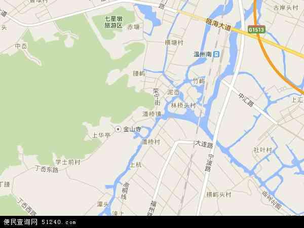 潘桥地图 - 潘桥电子地图 - 潘桥高清地图 - 2018年潘桥地图