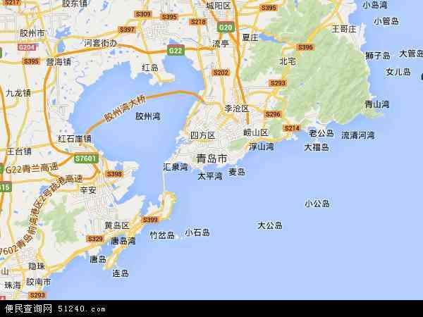 青岛市电子地图