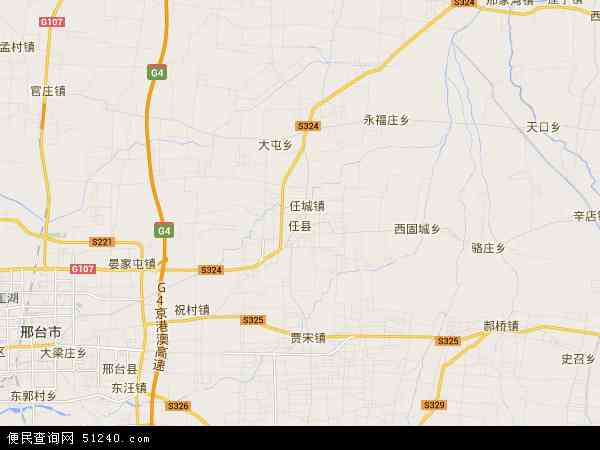 任县地图 - 任县卫星地图