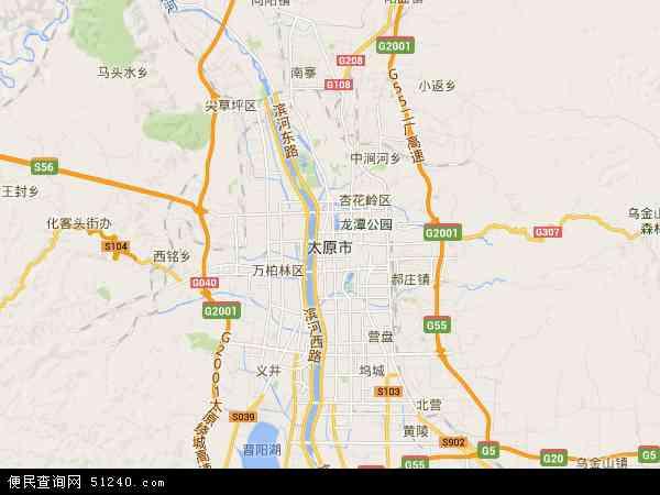 太原市地图 太原市卫星地图 太原市高清航拍地图 太原市高清卫星地图