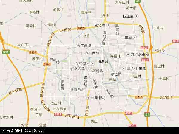 最新魏都区地图,2016魏都区地图高清版