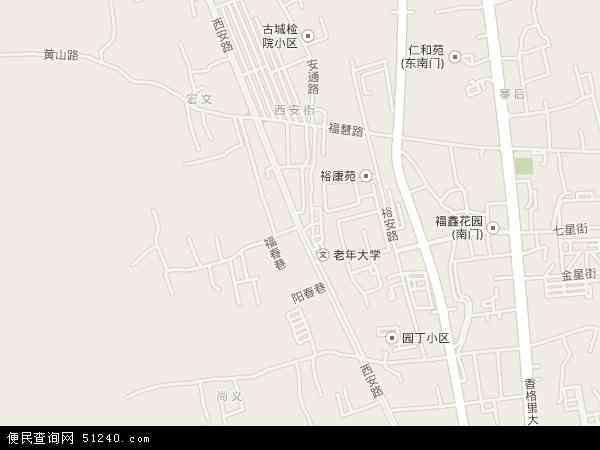 西安地图 - 西安电子地图 - 西安高清地图 - 2016年西安地图