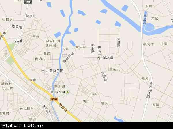 中国 广东省 东莞市 寮步镇 西溪村  西溪村卫星地图 本站收录有:2017