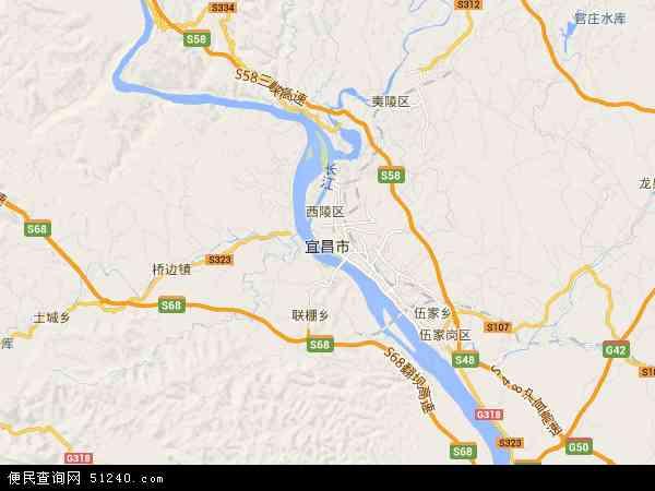 宜昌市地图 - 宜昌市电子地图 - 宜昌市高清地图 - 2018年宜昌市地图
