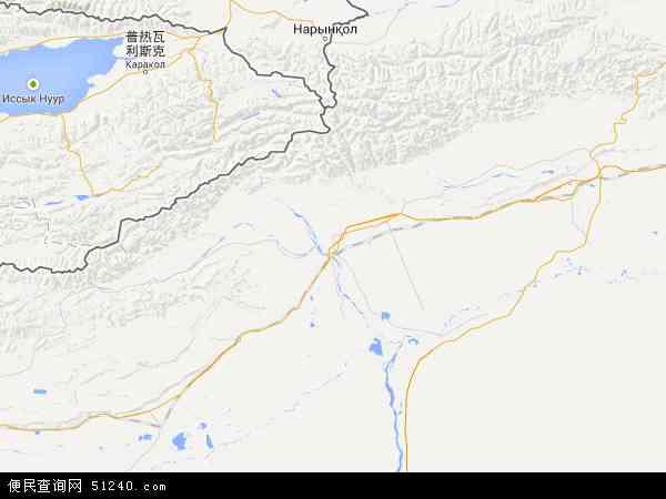 阿克苏地图 - 阿克苏卫星地图