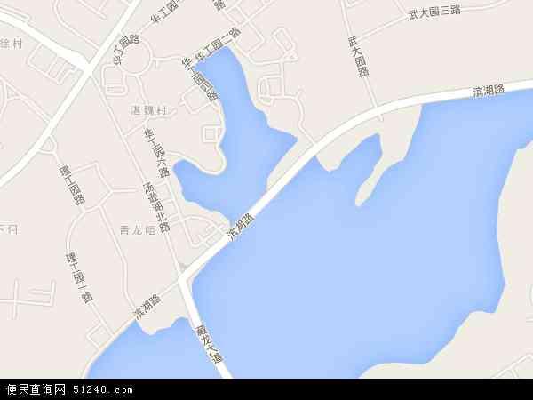 滨湖地图 - 滨湖电子地图 - 滨湖高清地图 - 2018年滨湖地图图片