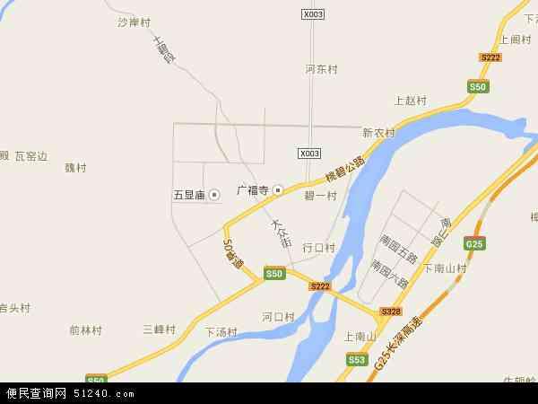 中国浙江省丽水市莲都区碧湖镇地图(卫星地图)图片