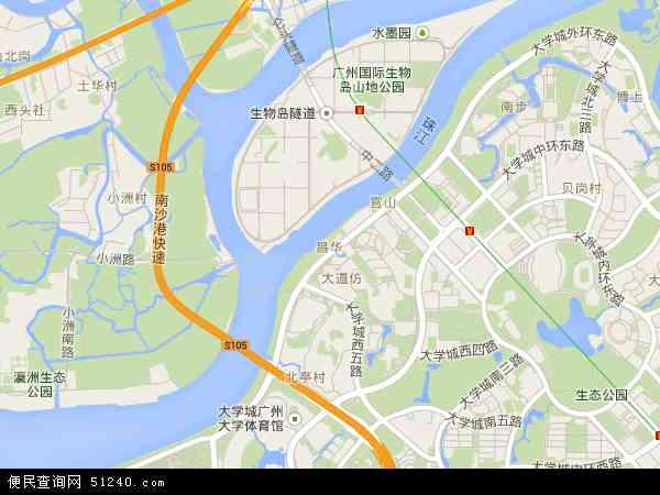 中國 廣東省 廣州市 荔灣區 昌華  昌華衛星地圖 本站收錄有:2019昌華