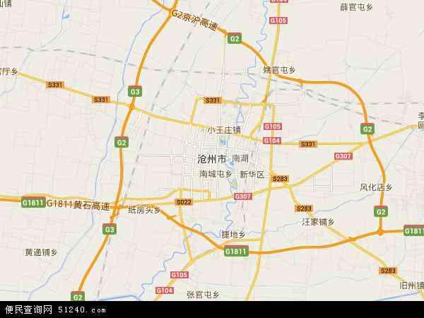 沧州市地图 沧州市卫星地图 沧州市高清航拍地图 沧州市高清卫星地图