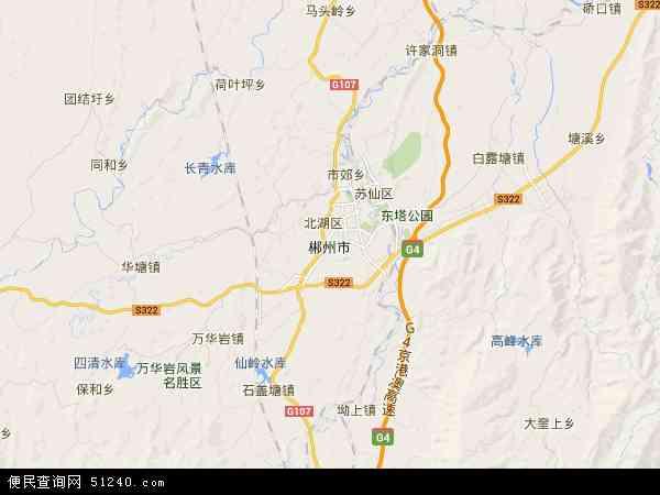 景观:苏仙岭,莽山森林公园,义帝陵,湘南起义纪念地,东江湖.