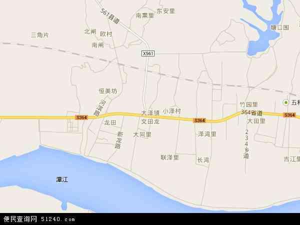大泽镇地图 大泽镇卫星地图 大泽镇高清航拍地图 大泽镇高清卫星地图 图片