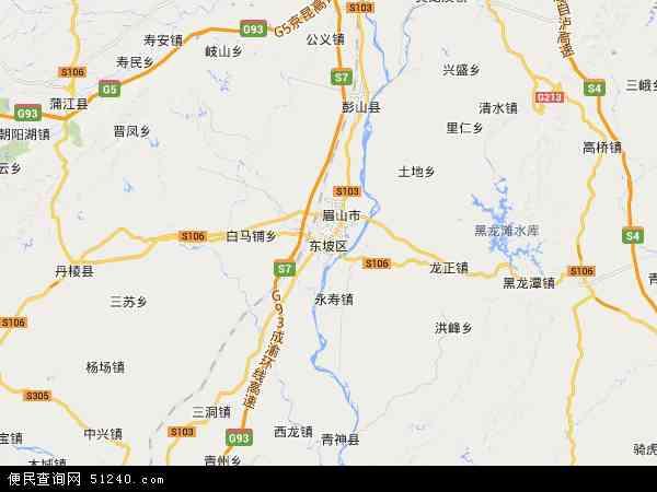 大石桥市卫星地图_东坡区地图 - 东坡区卫星地图 - 东坡区高清航拍地图