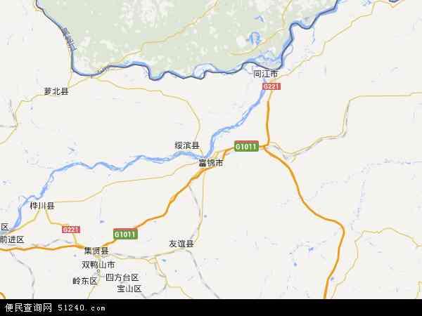 黑龙江省富锦市_富锦市地图 - 富锦市卫星地图 - 富锦市高清航拍地图