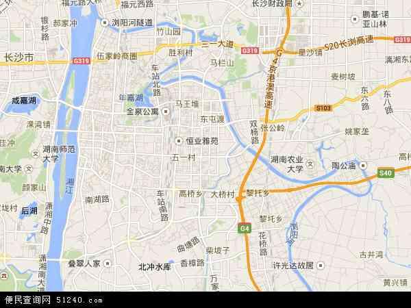 芙蓉区卫星地图