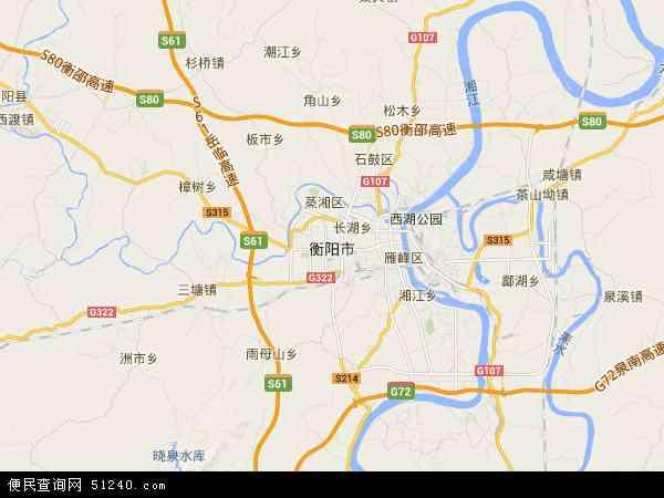 衡阳市地图 衡阳市卫星地图 衡阳市高清航拍地图 衡阳市高清卫星地图
