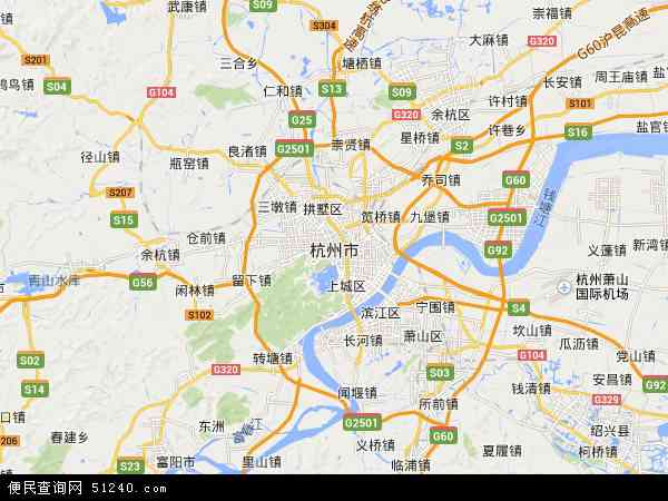 本站收录有:最新杭州市地图