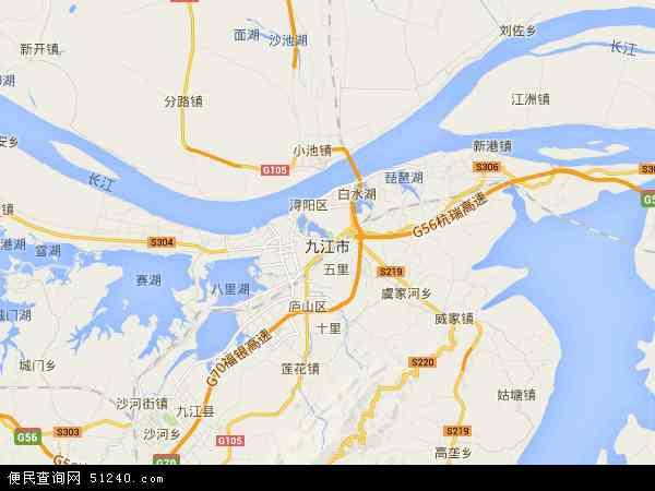 九江市地图 九江市卫星地图 九江市高清航拍地图 九江市高清卫星地图