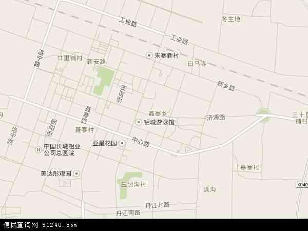 济源路地图 济源路卫星地图 济源路高清航拍地图 济源路高清卫星地图