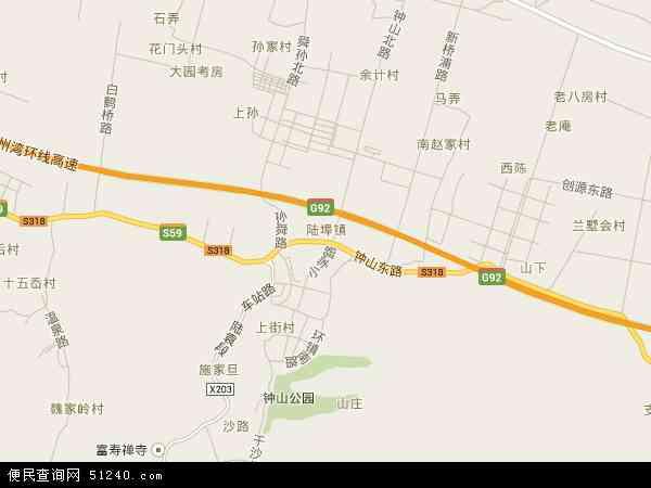 陆埠镇地图 陆埠镇卫星地图 陆埠镇高清航拍地图 陆埠镇高清卫星地图