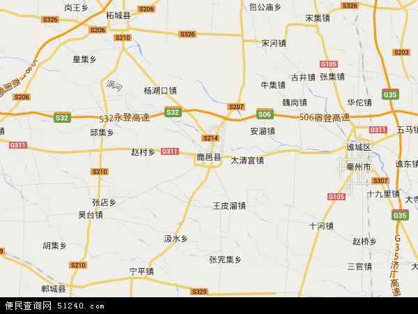 鹿邑县地图 - 鹿邑县卫星地图 - 鹿邑县高清航拍