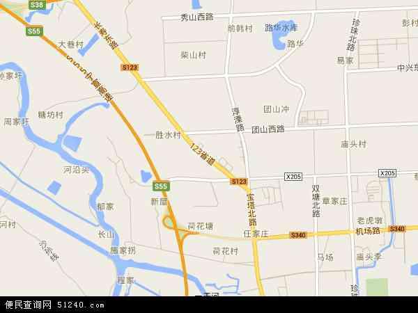 溧水区地图 - 溧水区卫星地图