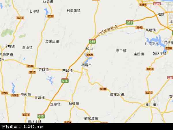栖霞市北斗卫星地图2015