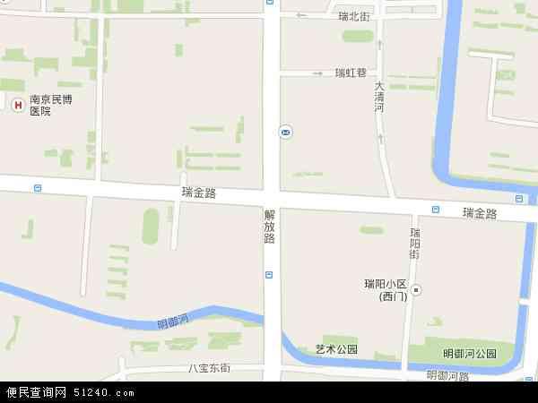 瑞金路地图 - 瑞金路卫星地图