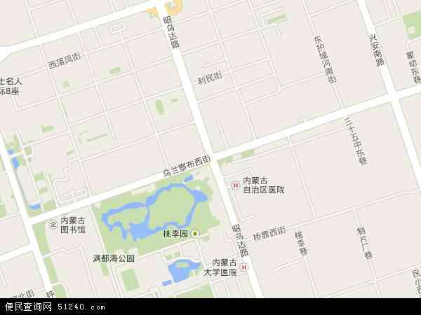 西街地图 - 西街电子地图 - 西街高清地图 - 2017年西街地图