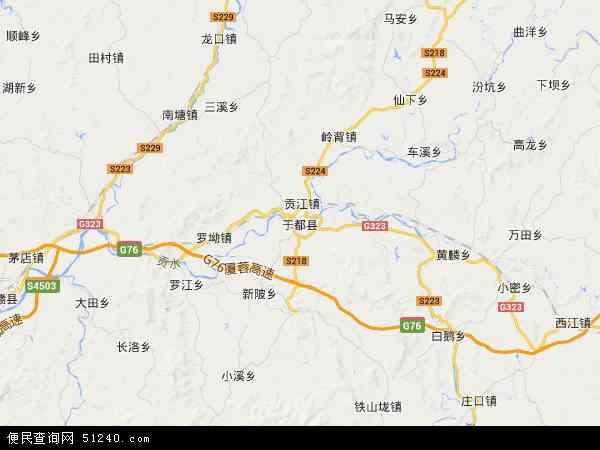 县地图 于都县卫星地图 于都县高清航拍地图 于都县高清卫星地图 于图片