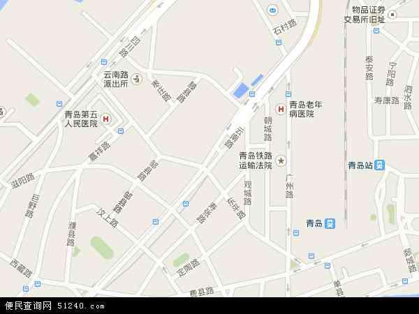 云南路地图 - 云南路电子地图