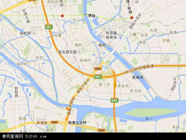 中南地图 - 中南卫星地图