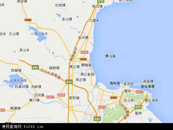 赣榆县地图 - 赣榆县卫星地图