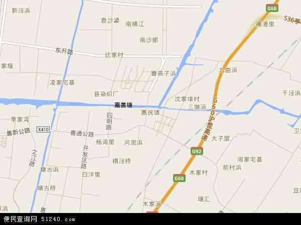 惠民地图 - 惠民卫星地图