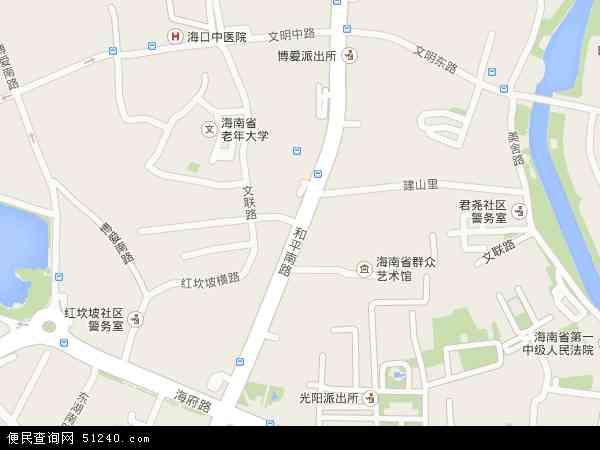 和平南地图 - 和平南卫星地图