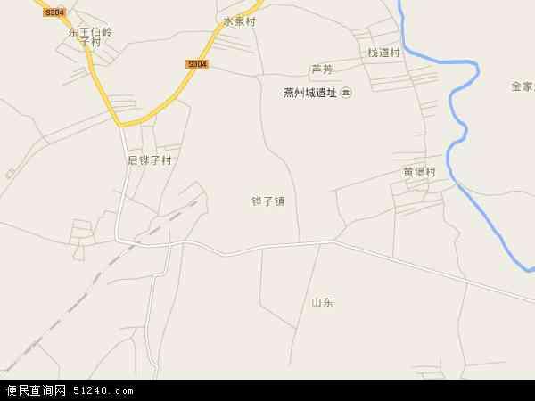 中国辽宁省辽阳市灯塔市铧子镇地图(卫星地图)