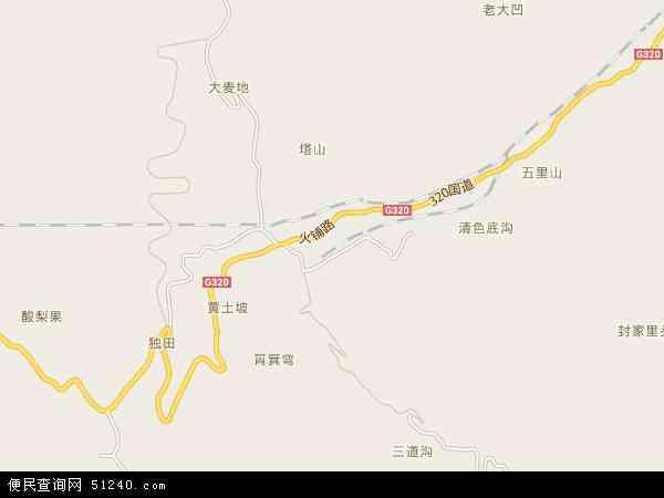 火铺镇电子地图
